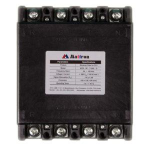 Blockeringsfilter PLC, 3-fas, Mattron